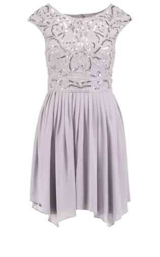 Lace & Beads GRACE Sukienka koktajlowa grey