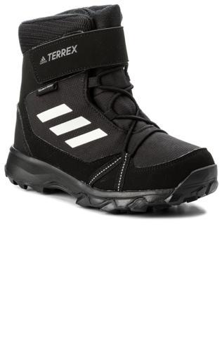 2e0b0cdba4646 Śniegowce adidas - Terrex Snow Cf Cp Cw K S80885 Cblack Cwhite Grefou  Zimowe -  Shoperia  Adidas
