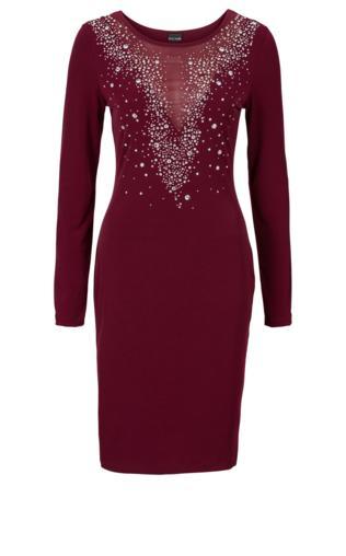 Sukienka wieczorowa bonprix czerwony