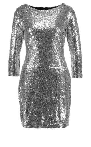 Glamorous Sukienka koktajlowa silver