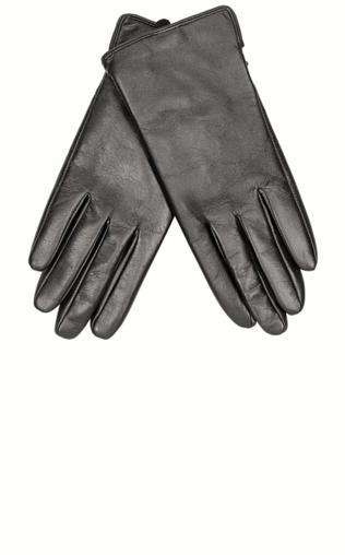 Czarne damskie rękawiczki