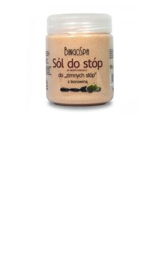 Borowinowa sól do stóp BingoSpa