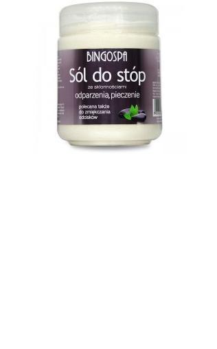 Sól do stóp ze skłonnościami odparzenia, pieczenie BingoSpa
