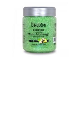 Solanka z minerałami Morza Martwego i ekstraktem soku Noni BingoSpa