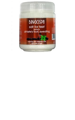 Sól do stóp ze skłonnościami grzybica, pocenie BingoSpa