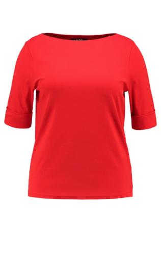 Lauren Ralph Lauren Woman JUDY Tshirt basic tomato red