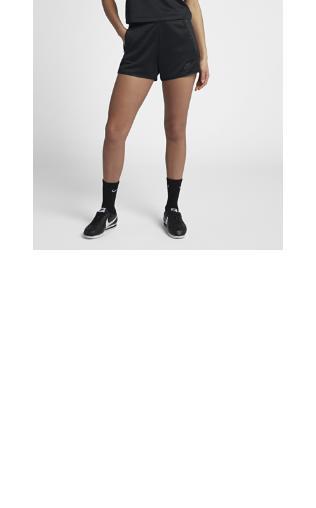 Spodenki damskie Nike Sportswear Tech Fleece Czerń