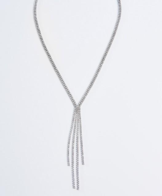 Mohito - Połyskujący naszyjnik - Srebrny