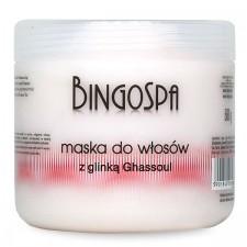 Maska do włosów z glinką Ghassoul BingoSpa