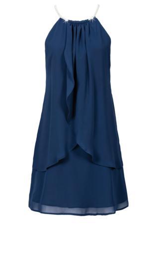 37aafadd5e Sukienka bonprix ciemnoniebieski Sukienki -  Shoperia  Bonprix