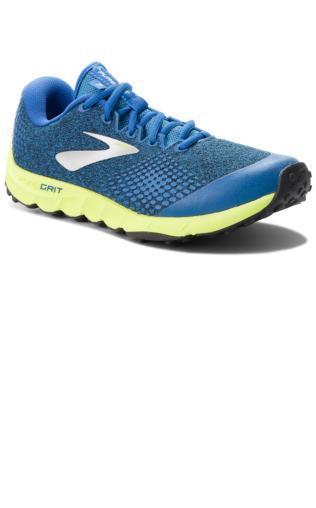 ffa33393d0c Buty BROOKS - PureGrit 7 110291 1D 492 Blue Lime Black Buty do biegania -   Shoperia  Brooks