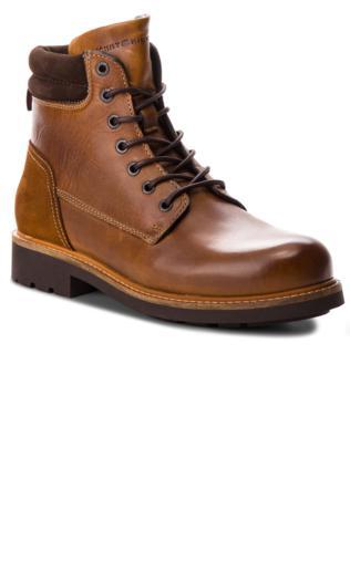 d38530a53d65c Kozaki TOMMY HILFIGER - Active Leather Boot FM0FM01774 Winter Cognac 906  Buty zimowe - {Shoperia} Tommy Hilfiger