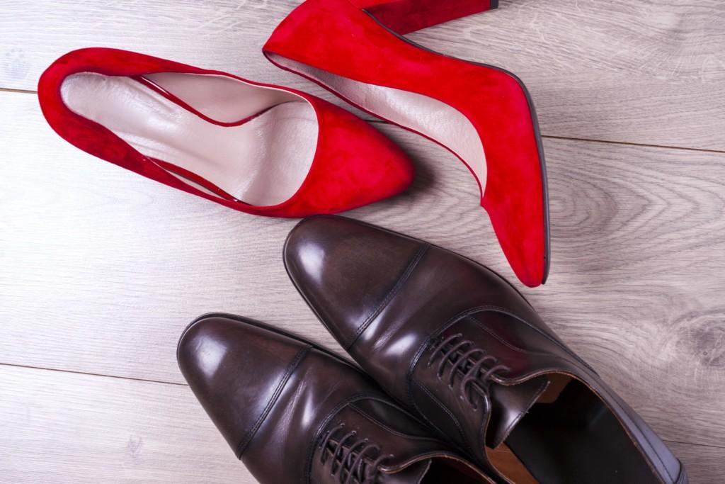 Skórzane buty jak czyścić