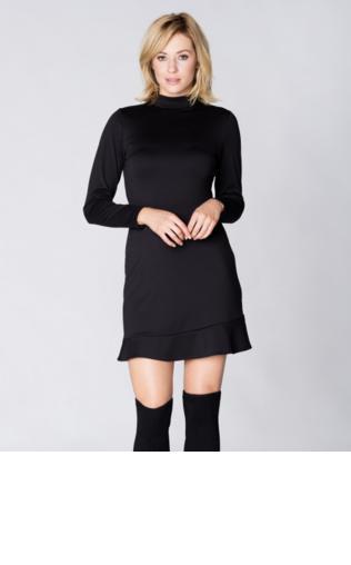 537f3b11d91ae4 Sukienka dwukolorowa midi Sukienki mini - {Shoperia} Venaton