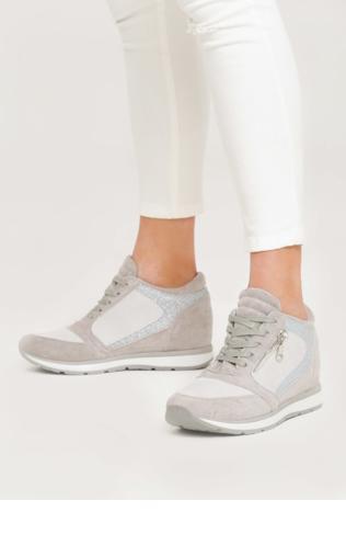 e0ae66a74396 Beżowe Sneakersy I Surrender Sneakersy -  Shoperia