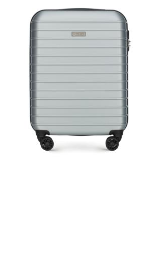 5b03640e37850 WITTCHEN Walizka kabinowa granatowy ABS Torby podróżne i walizki -  {Shoperia} Wittchen