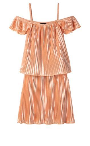 258032c235 Sukienka na uroczyste okazje bonprix biało-różowy Sukienki -  Shoperia   Bonprix