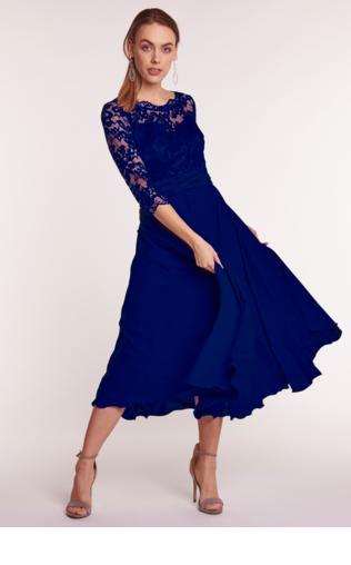 682cf6db0f Sukienka z czarną koronką - De Facto Sukienki -  Shoperia  De Facto