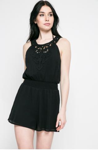 227e7456ec07 Leila Denim Button Belted Jumpsuit Kombinezony -  Shoperia  Missy Empire