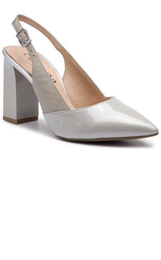 332e8a23cabb1 VENEZIA Czarne ażurowe sandały na koturnie - 0127PLM3202 B Sandały - { Shoperia} Venezia