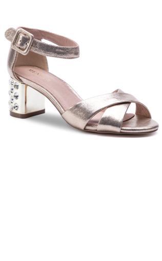 d0b7439cab4095 VENEZIA Rózowe sandały zapinane na kostkę - 0673 CAM FUXI Sandały -  {Shoperia} Venezia