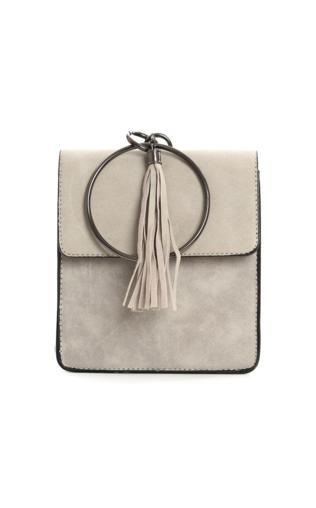 5383cea8b5a74 Szara torebka z frędzlami PESCINA Torebki i torby -  Shoperia  PRIMAMODA