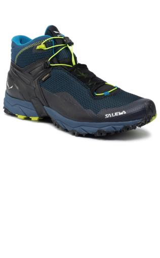 Trekkingi SALEWA Ms Ultra Flex Mid Gtx GORE TEX 64416 8968 PoseidonFluo Yellow