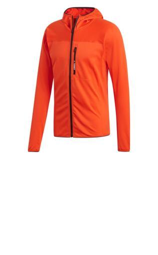 bluza do biegania męska ADIDAS TRACEROCKER HOODED FLEECE ACTORA DT4115